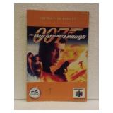 007 The World is not Enough - N64 Instruction Book