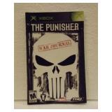 The Punisher War Journal - XBOX Instruction Book