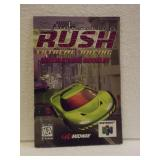 San Francisco Rush - N64 Instruction Booklet