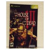 The House Of The Dead III - XBOX Instruction Book