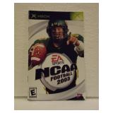 NCAA Football 2003 - XBOX Instruction Booklet