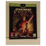Star Wars Nights Of The Old Republic - XBOX Manual
