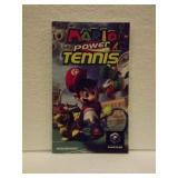 Mario Power Tennis - Nintendo Game Cube Booklet