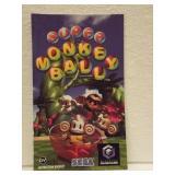 Super Monkey Ball - Nintendo Game Cube Instruc