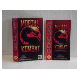 Motal Kombat - Sega Genesis Instruction Manual &