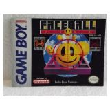 Faceball - Nintendo Game Boy Instruction Booklet