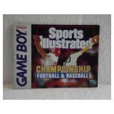 Sports Illustrated Championship Football & Base