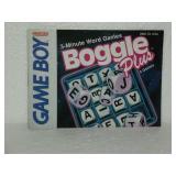 Boggle Plus - Nintendo Game Boy Instruction Book