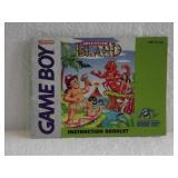 Adventure Island - Nintendo Game Boy Instruction