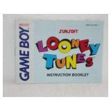Looney Tunes - Nintendo Game Boy Instruction Book