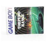 Torpedo Range  - Nintendo Game Boy Instruction