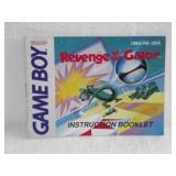 Revenge Of The Gator - Nintendo Game Boy Instruc