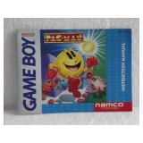 Pac-Man - Nintendo Game Boy Instruction Booklet