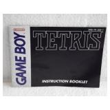 Tetris - Nintendo Game Boy Instruction Booklet