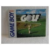 Ultra Golf - Nintendo Game Boy Instruction Booklet