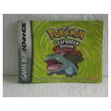 Pokemon Leaf Green Version - Nintendo Game