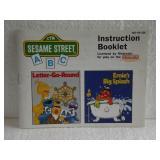 Sesame Street ABC - Nintendo NES Instruction