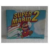 Super Mario Bros. 2 - Nintendo NES Instruction