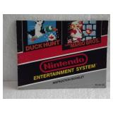 Duck Hunt/Mario Bros. - Nintendo NES Instruction