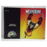 Wolverine - Nintendo NES Instruction Manual