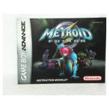 Metroid Fusion - Game Boy Advance Instruction