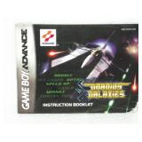 Grandius Galaxies - Game Boy Advance Manual