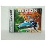 Iridion 3D - Game Boy Advance Instruction Booklet