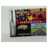 Namco Museum - Game Boy Advance Manual