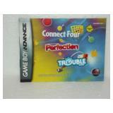 Connect Four Perfection Trouble - Game Boy Advanc