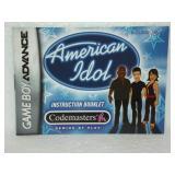American Idol - Game Boy Advance Instruction Book