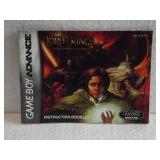The Lord Of The Rings - Game Boy Advance Instruc