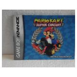 Mario Kart Super Circut - Game Boy Advance Instru
