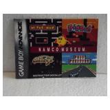 Namco Museum - Game Boy Advance Instruction Book