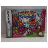 Wacky Stackers - Game Boy Advance Manual
