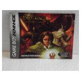 The Lord Of The Rings - Game Boy Advance Manual
