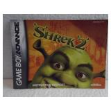 Shrek 2 - Game Boy Advance Instruction Booklet