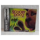 Scooby Doo 2 - Game Boy Advance Instruction Book