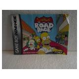 The Simpsons Road Rage - Game Boy Advance Manual