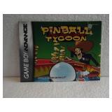 Pinball Tycoon - Game Boy Advance Manual