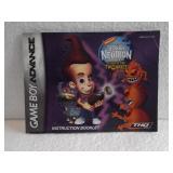 Jimmy Neutron Boy Genius - Game Boy Advance Manual