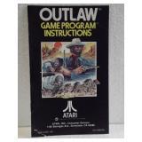 Atari Outlaw - Owners Manual