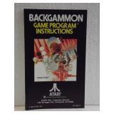 Atari  - Owners Manual Backgammon