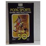 Sears Tele-Games Pong Sports - Owners Manual