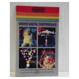 Atari Video Game Cartridges Booklet