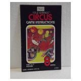 Sears Tele-Games Circus  - Owners Manual