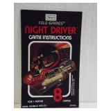 Sears Tele-Games -Night Driver Owners Manual