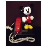 Mickey Mouse Push Button Phone