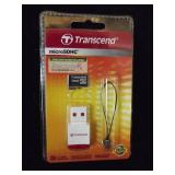 Transcend Micro SDHC 16GB Class 4 Card+Card Reader