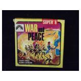 "War & Peace Super 8mm Movie, 3"" Reel"
