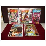 Marvel Namor Comics Lot of 5